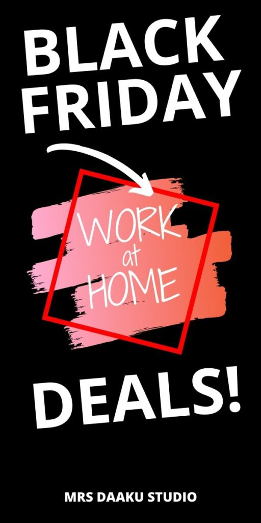 Work at home black friday deals