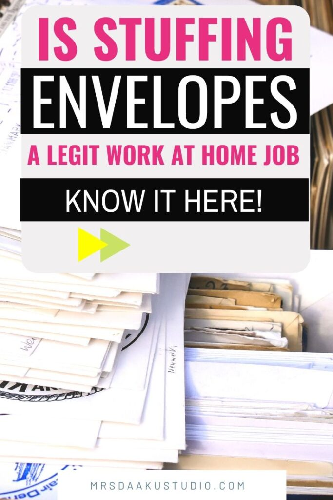 Envelope Stuffing Jobs at Home