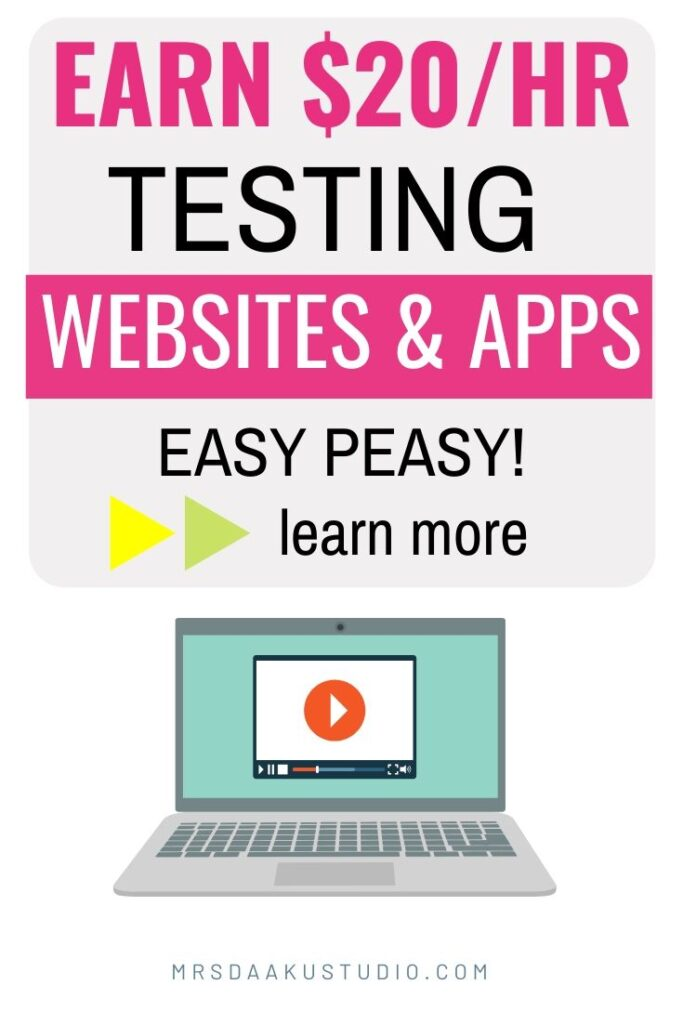 website tester jobs