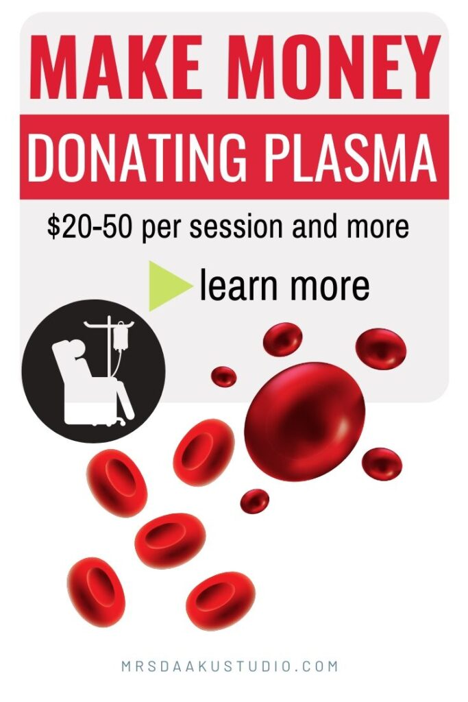 selling plasma
