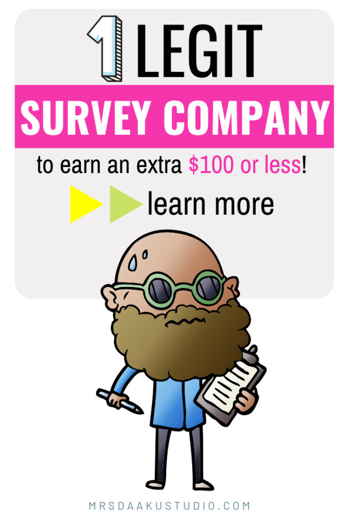 survey savvy review and savvy connect - pinterest graphic