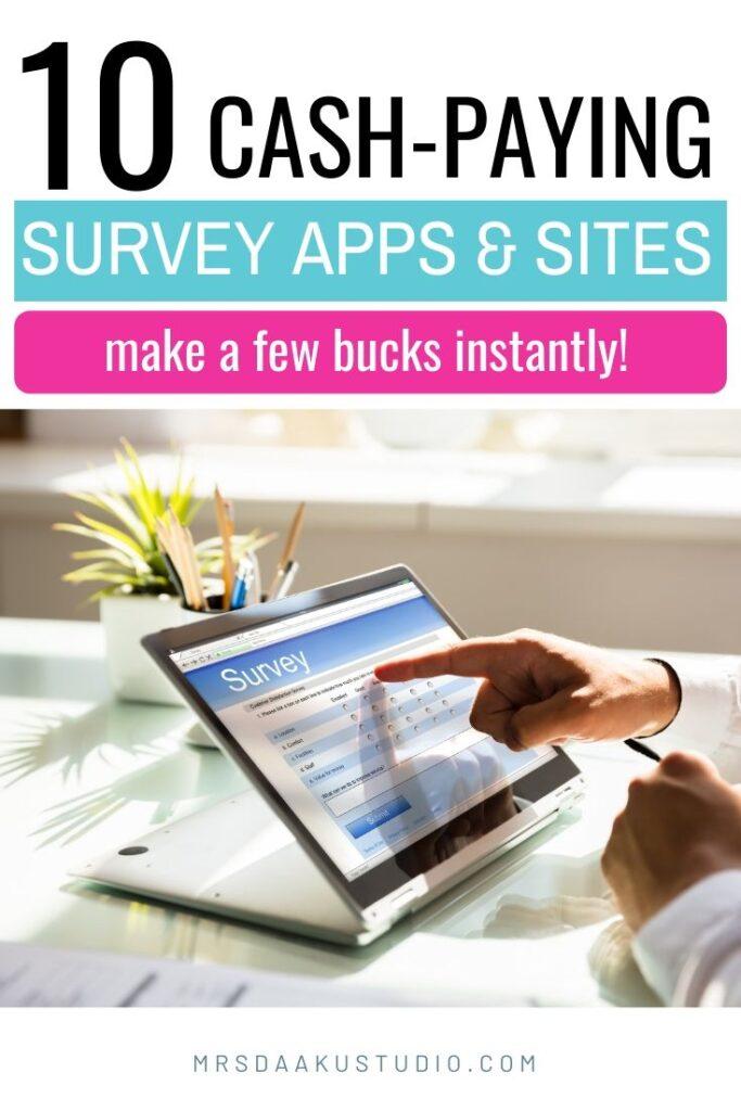 best survey sites to make money extra cash