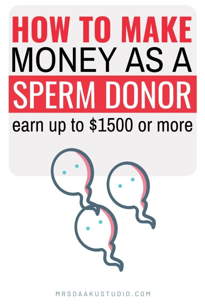 how much is your sperm worth