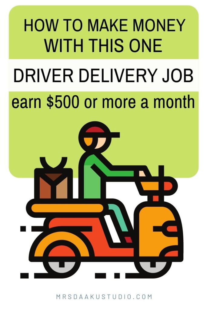 delivery driver jobs to make money on the side