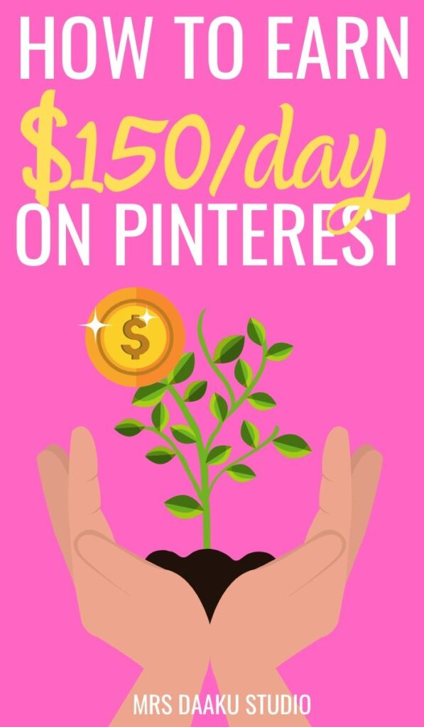 how to make money on pinterest - pinterest graphic