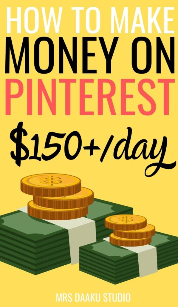 how to make money on pinterest without a blog, with affiliate marketing