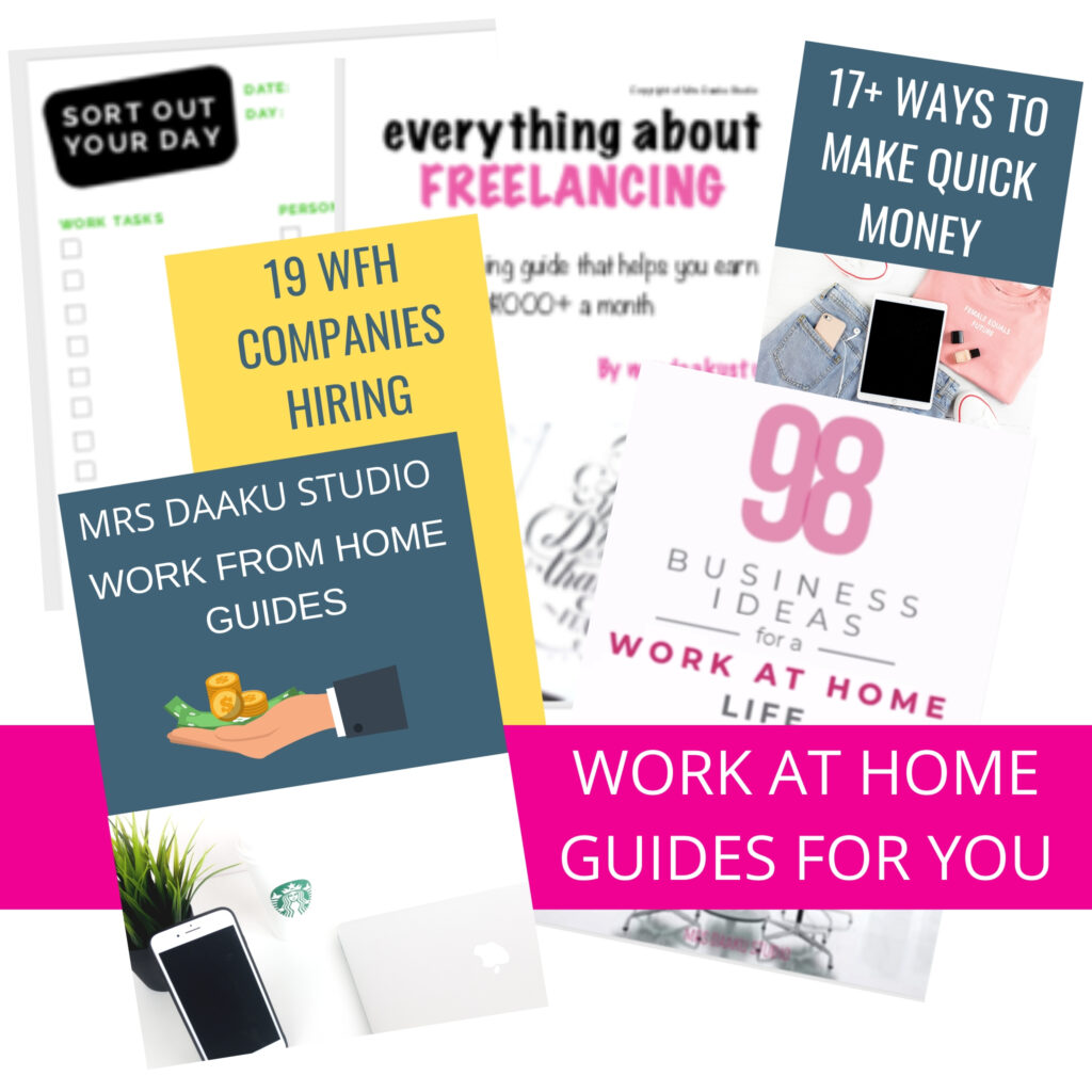 Work at Home Guides