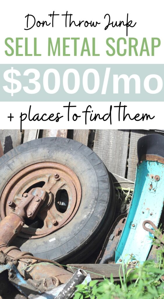 make money with metal scrap and junk
