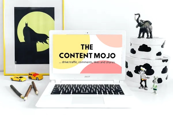 the content mojo mockup