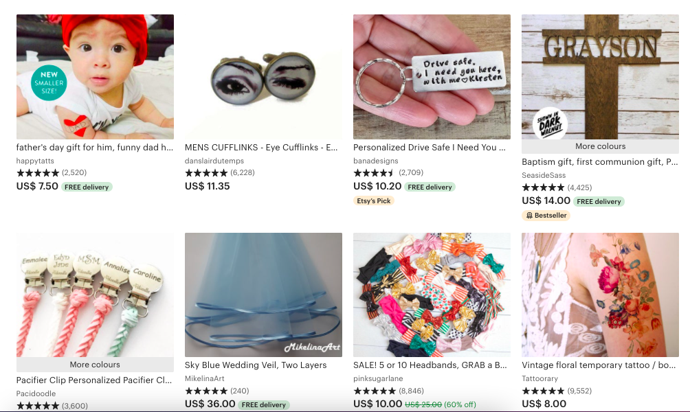 handmade items to sell on Etsy